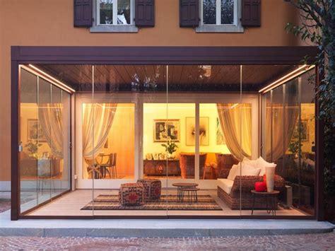 verande chiuse in legno e vetro verande esterne mobili chiuse e apribili giardini d inverno