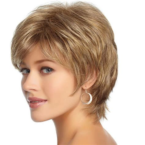 New American And European Women Short Natural Curly Wig