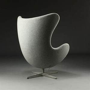 Egg Chair Arne Jacobsen : fritz hansen arne jacobsen egg chair in kvadrat tonica grey modern chairs ~ Bigdaddyawards.com Haus und Dekorationen