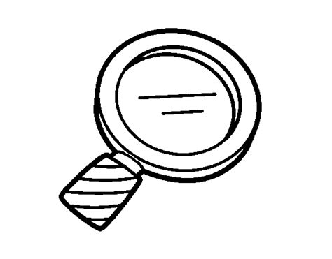biology magnifying glass coloring page coloringcrewcom