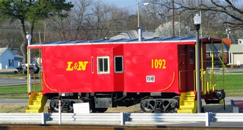 Caboose L by Tullahoma S L N Caboose 2008 Not Far From Tullahoma S