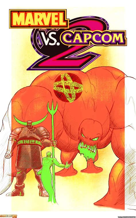 Read About The Boss Of Marvel Vs Capcom 2