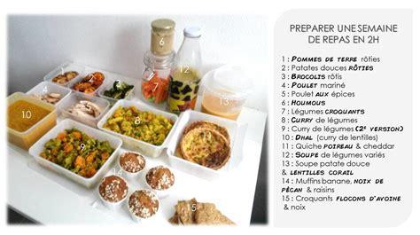 cuisiner le dimanche pour la semaine cuisiner pour la semaine en 2h max les gourmandises de léa