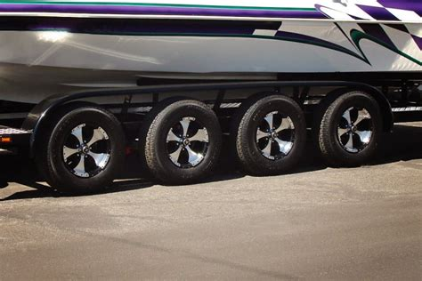 Boat Quad Trailer by Custom Trailer Options For Shadow Trailers