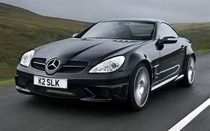 Mercedes-Benz SLK 55 AMG Black Series (2006) UK Wallpapers