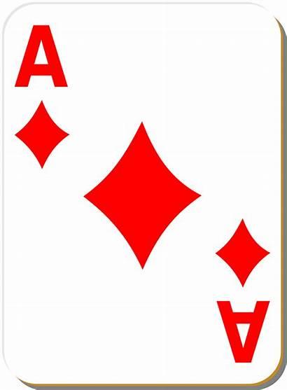 Card Playing Ace Diamonds Illustration Diamond Res