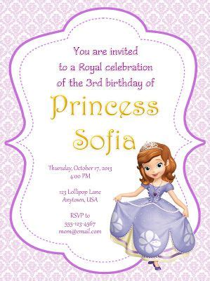 sofia the free invitation templates 100 best images about tarjetas papel carta on