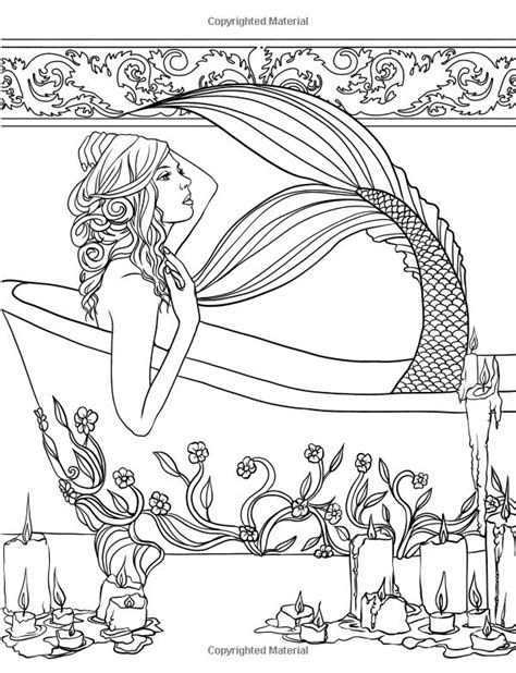 460 best images about Mermaid Coloring Sheets on Pinterest