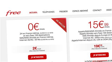 Free Mobile by Le Site Officiel Free Mobile S Offre Un Design Quot Responsive Quot