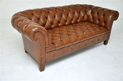 brown chesterfield sofa brown leather chesterfield sofa baker image 8