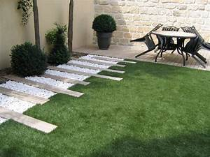 jardin graphique pinteres With exemple de decoration de jardin 10 travertin dimapco