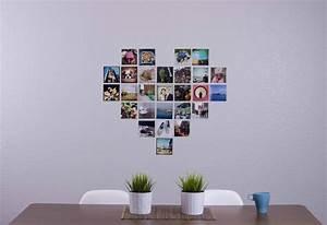 Fotowand Selber Machen : fotowand herz selber machen so dekorieren sie ihr zimmer ~ A.2002-acura-tl-radio.info Haus und Dekorationen