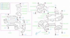 2005 Subaru Outback Catalytic Converter Heat Shield  Rear