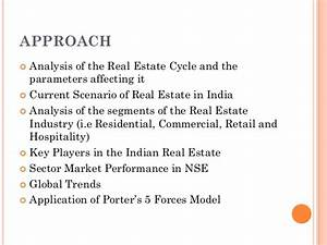 Industry analysis of the real estate sector