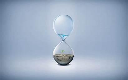 Save Water Hourglass Waste Creative Wall