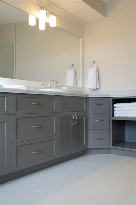 gray bathroom vanities contemporary bathroom pratt