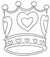 Crown Coloring Pages Princess Printable Getcoloringpages Coloringtop sketch template