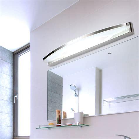 Modern Bathroom Mirrors With Led Lights by Pre Modern Minimalist Led Mirror Light Water Fog