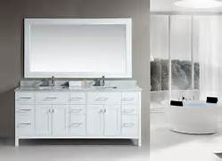 Double Sink Vanity Tops For Bathrooms by 60 Moscony Double Sink Vanity Espresso Tradewindsimports Bathroom Vanit