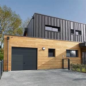 Porte De Garage Gris Anthracite : porte de garage des mod les styl s c t maison ~ Melissatoandfro.com Idées de Décoration