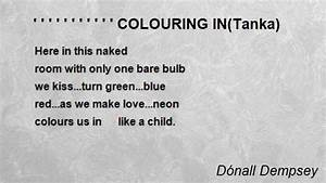 colouring intanka poem by donall dempsey poem hu With tanka poem template