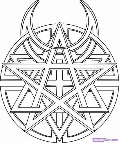 Symbol Disturbed Draw Step Drawing Culture Steps