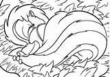 Sleep Coloring sketch template
