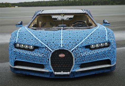 Lego has announced the new technic bugatti chiron 1:8 kit. Parabrisas   Juguete rabioso: Lego construyó un Bugatti Chiron a escala real