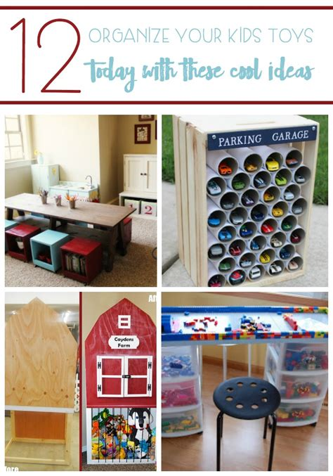 organize  kids toys today    cool ideas