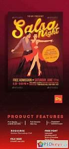 Salsa Night Flyer Template 16454998  U00bb Free Download Photoshop Vector Stock Image Via Torrent