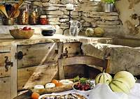 best french country outdoor kitchen Decoración de cocinas rústicas. BricoDecoracion.com | Interiores de casas ecológicas | Pinterest ...