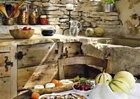 best french country outdoor kitchen Decoración de cocinas rústicas. BricoDecoracion.com ...