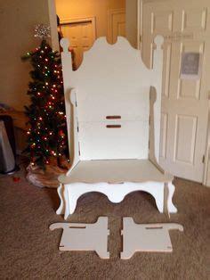 portable santa claus throne  couch  chair  elves