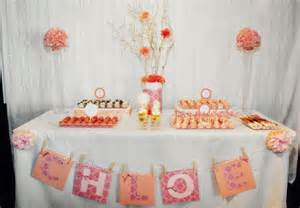 Baby Shower Dessert Table Ideas