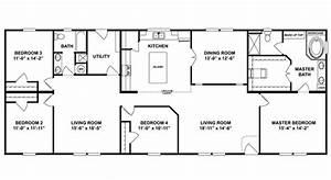 1983 Champion Mobile Home Floor Plan