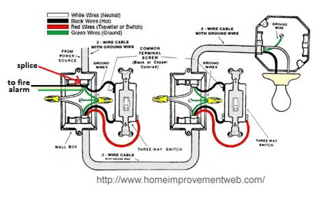 Smoke Detector Electrical Wiring by Wiring Turning Light On Turns Power To Alarm