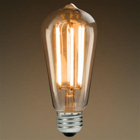 led edison bulb 6 watt 40w equal plt kst58n6lvcl22k