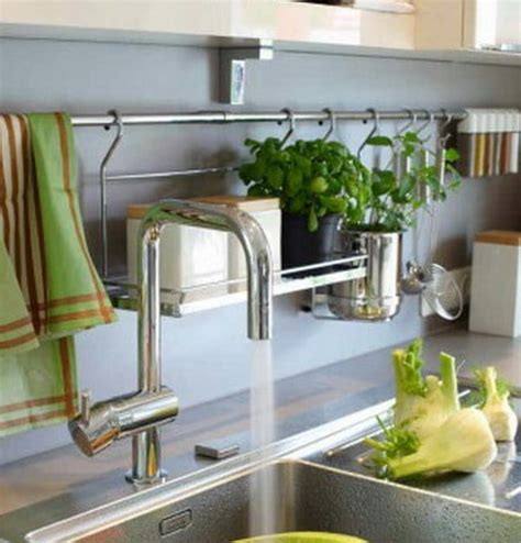 kitchen rail storage kitchen railing storage ideas kitchen organization 2478