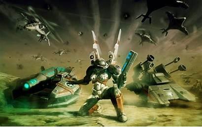 Conquer Command Zone Raider Tiberium Wars Wallpapers