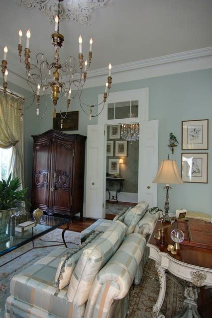 Elegant New Orlean's Living Room  Traditional New