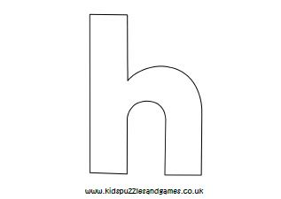 outline lowercase colouring sheet kids puzzles  games