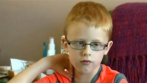 'I am seeing something': Legally blind seven-year-old gets ...