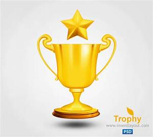 Trophy PSD | Download free PSD & Graphics - Inventlayout.com