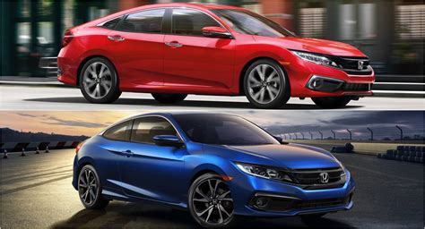Honda Details 2019 Civic Sedan And Coupe Updates, Releases