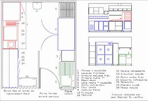 beautiful amenagement d une cuisine images design trends With attractive plan maison en longueur 13 cuisine avec plan central macoretz agencement