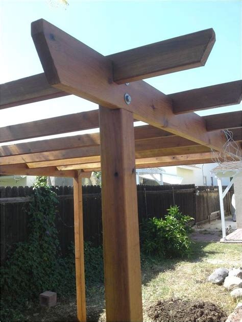 Einfache Pergola Bauen by How To Build A Pergola Woodworking Projects Plans