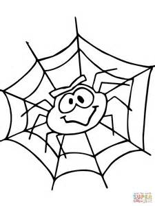 Free Itsy Bitsy Spider Coloring Pages