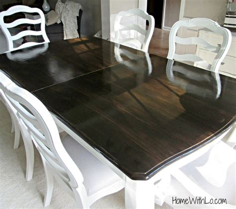 tutorial  refinishing  wood veneer table top