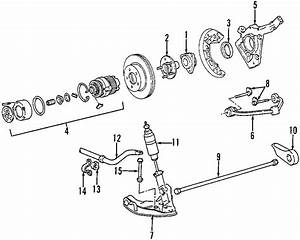 Ford Explorer Hub  Bearing  Assembly