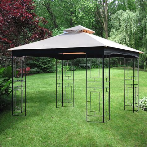 Garden Treasures Replacement Canopy by Replacement Canopy Gt Geo Gazebo Riplock 350 Garden Winds